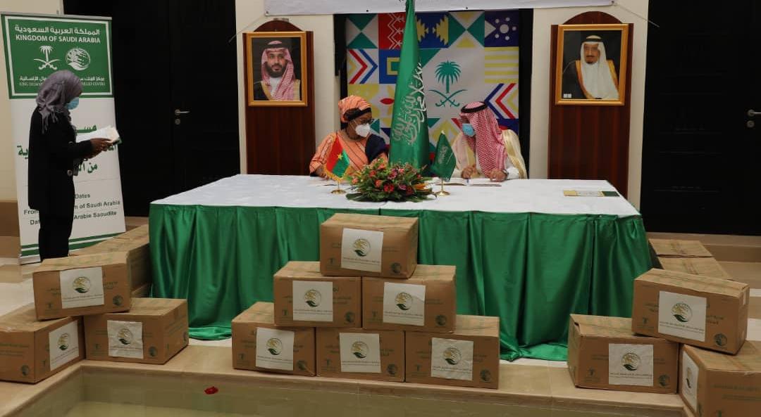 Coopération : L'Arabie Saoudite offre 50 tonnes de dattes au Burkina -  Minute